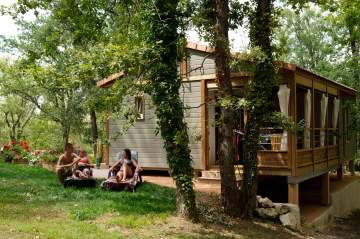 Nos hébergements : chalets, bungalows, mobil-home... près de Toulouse